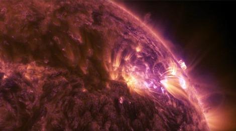 Chiêm ngưỡng lửa mặt trời trong vũ trụ
