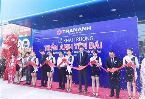Trần Anh khai trương đại siêu thị điện máy tại Yên Bái