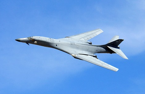 Mỹ điều B-1 tới Guam đối phó với Trung Quốc ở Biển Đông