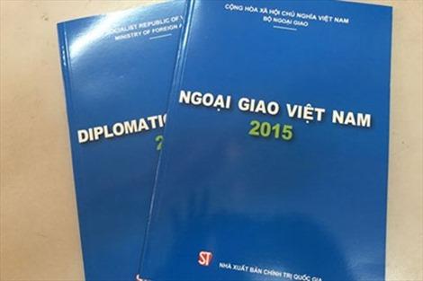 """Lần đầu tiên công bố """"Sách Xanh Ngoại giao Việt Nam"""""""