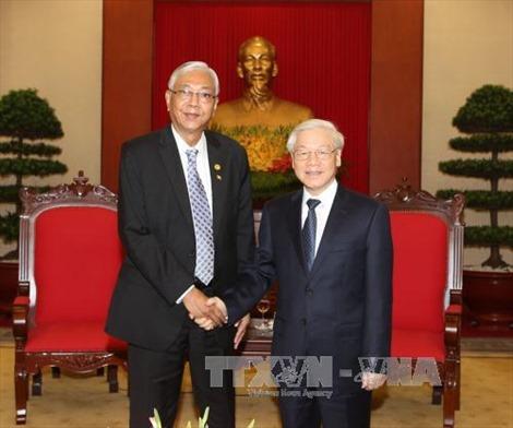 Tổng thống Myanmar kết thúc tốt đẹp chuyến thăm Việt Nam