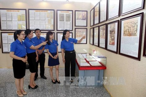 Triển lãm bản đồ và trưng bày tư liệu 'Hoàng Sa, Trường Sa của Việt Nam - Những bằng chứng lịch sử và pháp lý'