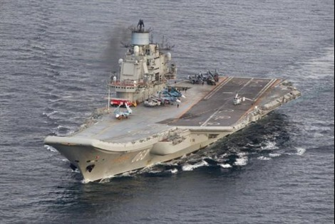 Quyết giành ngôi đầu, Nga tính chế tàu sân bay tỷ đô rộng bằng 3 sân bóng