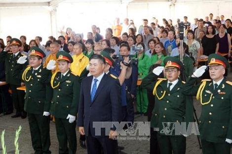 Cộng đồng người Việt tại Đức kỷ niệm 70 năm ngày Thương binh - Liệt sĩ