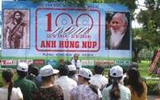Triển lãm ảnh kỷ niệm 100 năm ngày sinh Anh hùng Núp