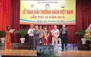 Trao giải thưởng Sách Việt Nam năm 2014