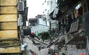 Khẩn trương công tác cứu hộ vụ sập nhà cổ