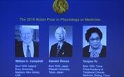 Nobel Y học trao cho nghiên cứu thuốc ký sinh trùng
