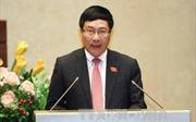 Phó Thủ tướng Phạm Bình Minh tiếp Phó Tư lệnh quốc phòng Anh