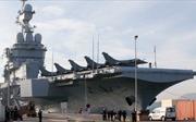 Phi cơ từ tàu sân bay Charles de Gaulle không kích IS