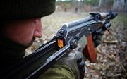 Những ngày luyện tập ở Lugansk của tân binh Ukraine