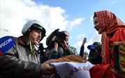 Người Nga chào đón phi công trở về từ Syria