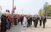Tổng Bí thư, Chủ tịch nước Lào kết thúc tốt đẹp chuyến thăm Việt Nam