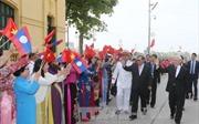 Điện cảm ơn của Tổng Bí thư, Chủ tịch nước Lào