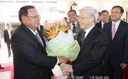 Báo chí Lào đưa đậm nét chuyến thăm của Tổng Bí thư Volachith