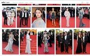 Tham dự LHP Cannes, Lý Nhã Kỳ lên trang mạng nổi tiếng thế giới