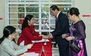 Lãnh đạo Đảng, Nhà nước bỏ phiếu thực hiện quyền công dân