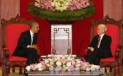 Tổng Bí thư Nguyễn Phú Trọng tiếp Tổng thống Hoa Kỳ