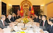 Bộ trưởng Ngoại giao hội đàm với Ngoại trưởng Hoa Kỳ