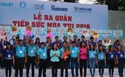 """Ra quân """"Tiếp sức mùa thi 2016"""" tại TP Hồ Chí Minh"""