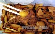 Bắt quả tang quán ẩm thực tiêu thụ đuông dừa