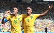 Chiến thắng viết nên trang sử mới cho tuyển Olympic Brazil