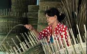 Bảo tồn nghề đan lát truyền thống ở Ngã Bảy