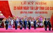 Lào Cai kỷ niệm 25 năm tái lập tỉnh