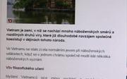 Báo Séc ca ngợi chính sách tôn giáo của Việt Nam