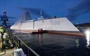 Cận cảnh khu trục hạm khiến đối phương khiếp đảm vừa gia nhập Hải quân Mỹ