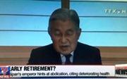 Nhật xem xét nguyện vọng thoái vị của Nhật hoàng