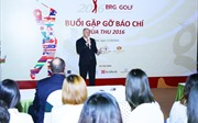 BRG Golf Hà Nội Festival góp phần xúc tiến du lịch