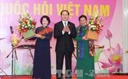 Đồng chí Tòng Thị Phóng là Chủ tịch Nhóm nữ đại biểu Quốc hội khóa XIV