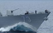 Hạm đội 3 tuần tra Biển Đông, Mỹ sẵn sàng tác chiến hai mặt trận ở châu Á