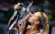 """Cibulkova - """"Nữ hoàng"""" mới của WTA Finals"""
