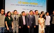 Đại sứ Trương Mạnh Sơn khen thưởng các tài năng trẻ Việt Nam tại Séc