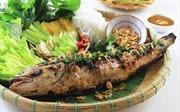 Đậm đà hương vị cá lóc nướng
