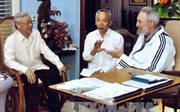 Tình cảm giữa lãnh đạo thế giới và lãnh tụ Cuba Fidel Castro