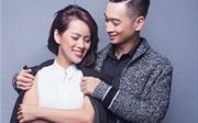 Slim V cười rạng rỡ bên bạn gái, nghệ sĩ sáo Huyền Trang