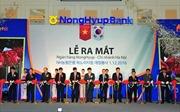 Ra mắt chi nhánh ngân hàng Nonghyup Hà Nội