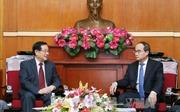 Thúc đẩy hợp tác giữa Mặt trận Tổ quốc Việt Nam và Chính hiệp Trung Quốc