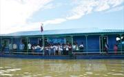Khánh thành trường học trên Biển Hồ cho con em Việt kiều