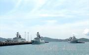 Hai tàu Hải quân Hàn Quốc cập Cảng Cam Ranh