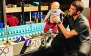 Học cách kiên nhẫn như Michael Phelps dạy con tập bơi