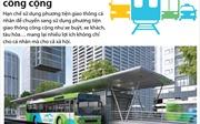 Nhiều lợi ích của giao thông công cộng