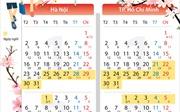 Học sinh nghỉ Tết: Hà Nội 8 ngày, TP Hồ Chí Minh nghỉ gấp đôi
