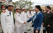 Chủ tịch Quốc hội chúc Tết quân và dân vùng biên giới Quảng Ninh