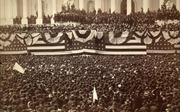 Những bức ảnh lịch sử về lễ tuyên thệ nhậm chức Tổng thống Mỹ