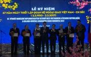 Kỷ niệm 67 năm quan hệ Việt-Séc và đón Tết Đinh Dậu tại Praha