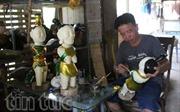 Nghệ nhân làm rối nước duy nhất tại Thành phố Hồ Chí Minh